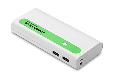 Ambrane P-1310 13000mAh Power Bank (White-Green)