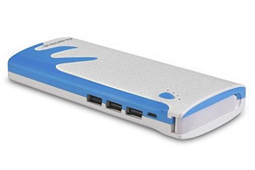 Ambrane P-1122 10000mAh Power Bank (White-Blue)