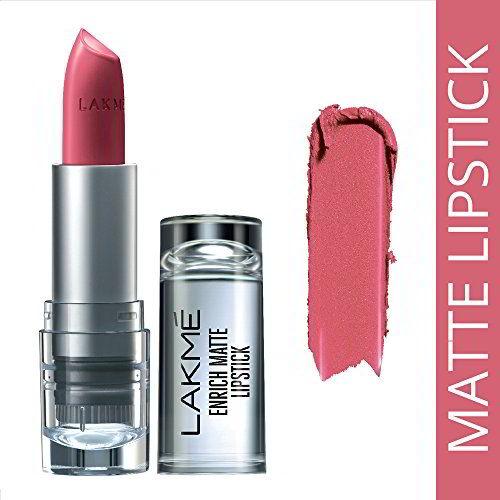 Lakme Enrich Matte Lipstick, Shade PM14