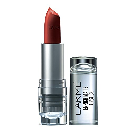 Lakme Enrich Matte Lipstick, Shade RM12