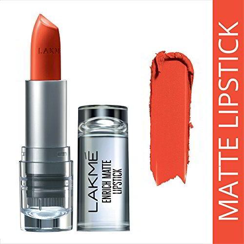 Lakme Enrich Matte Lipstick Shade OM10