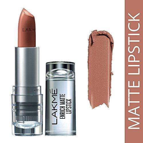 Lakme Enrich Matte Lipstick Shade BM10 4.7g