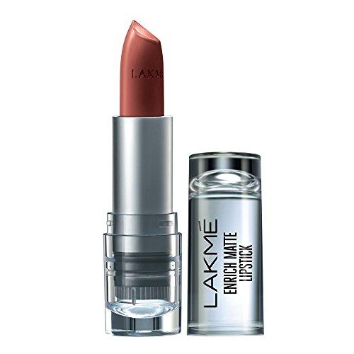 Lakme Enrich Matte Lipstick, Shade OM12