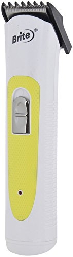 Brite BHT-740 Professional Hair Trimmer For Unisex Yellow