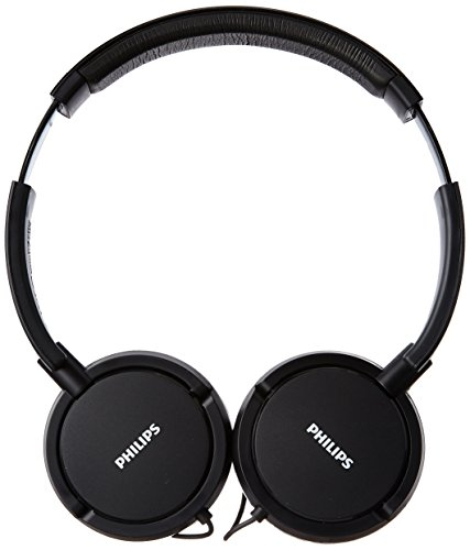 Philips SHL5000/00 On Ear Headphone with Deep Bass (Black)