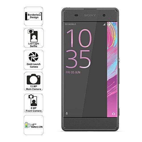 Sony Xperia XA Dual (Sony F3116) 16GB Graphite Black Mobile