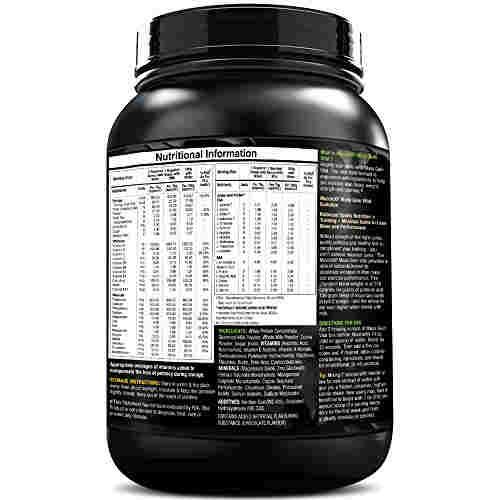 MuscleXP Mass Gain Vital (1Kg / 2.2lbs, Chocolate)