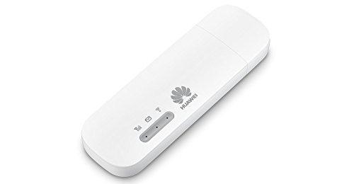 Huawei E8372 Unlocked 4G/LTE Wi-Fi Dongle (White)