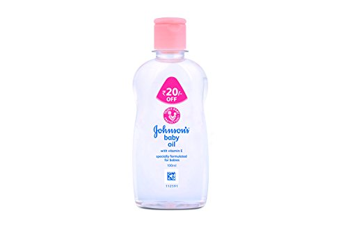 Johnsons Baby Oil with Vitamin E, 100 ml