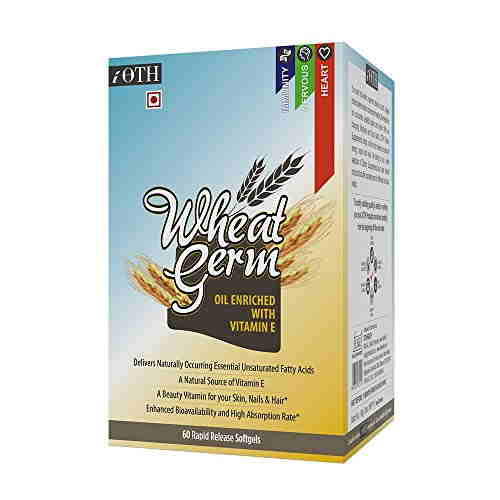 Ioth Wheat Germ Oil Supplements (60 Capsules)