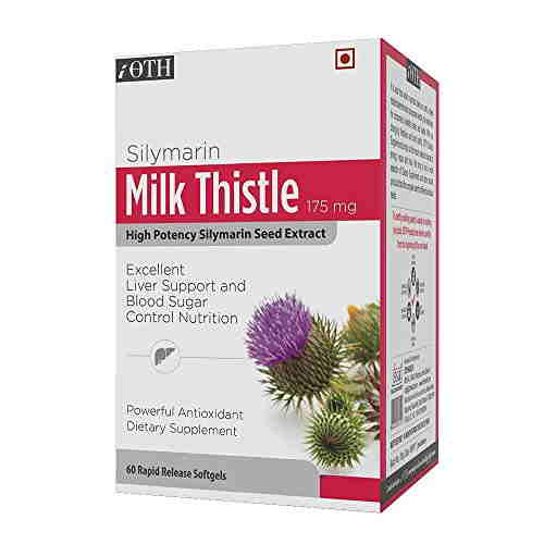 Ioth Silymarin Milk Thistle Extract 175 mg (60 Capsules)