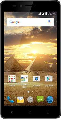 Karbonn Aura Power 8GB Black-Champagne Mobile