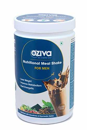 O'Ziva Nutritional Meal Shake For Men (500gm / 1.11lbs, Chocolate)