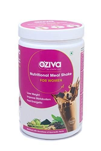 O'Ziva Nutritional Meal Shake For Women (500gm, Chocolate)
