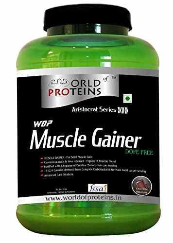WOP Muscle Gainer (2.26Kg, Chocolate)