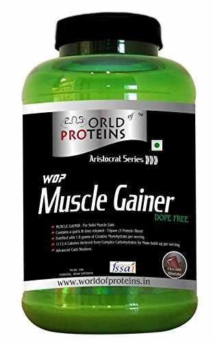 WOP Muscle Gainer (910gm, Chocolate)