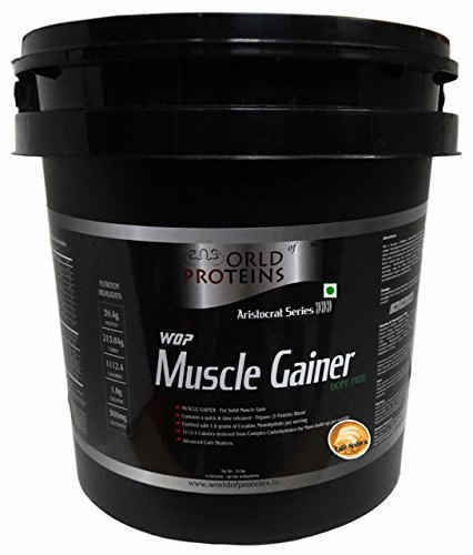 WOP Muscle Gainer (4.53Kg, Cafe Arabica)