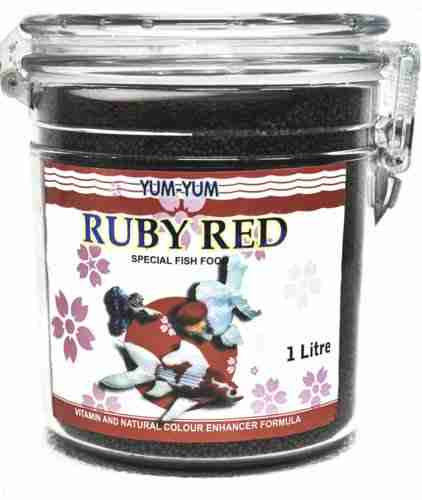 Yum Yum Ruby Red Fish Food (1L)