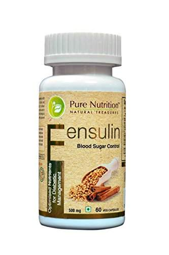 Pure Nutrition Fensulin 500mg Extract Supplements (60 Capsules)