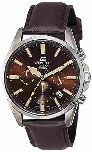 Casio Edifice EFV-510L-5AVUDF (EX324) Analog Brown Dial Men's Watch