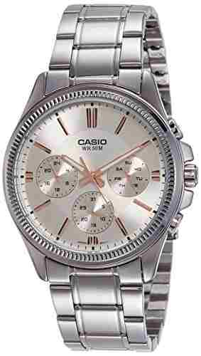 Casio Enticer MTP-1375D-7A2VDF (A1078) Analog White Dial Men's Watch (MTP-1375D-7A2VDF (A1078))