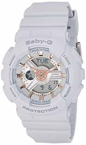 Casio Baby-G BA-110GA-8ADR Analog-Digital Watch (BA-110GA-8ADR)