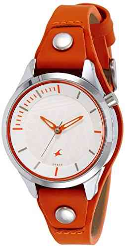 Fastrack 6156SL02 Analog White Dial Women's Watch