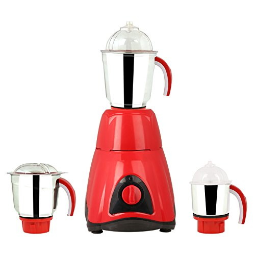 Sunmeet Factory Outlet 1000 Watts Mixer Grinder, (3 Jars)