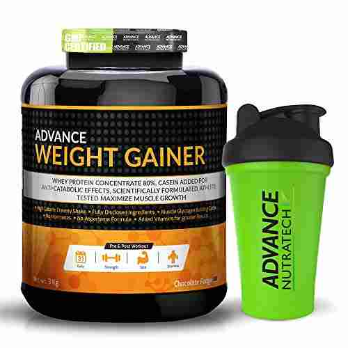Advance Nutratech Weight Gainer (3Kg, Chocolate)