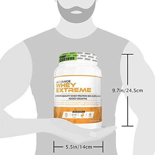 Advance Nutratech Whey Extreme Protein Powder (1Kg, Chocolate)