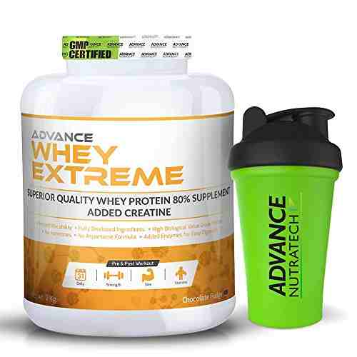 Advance Nutratech Whey Extreme Protein Powder (2Kg, Chocolate)