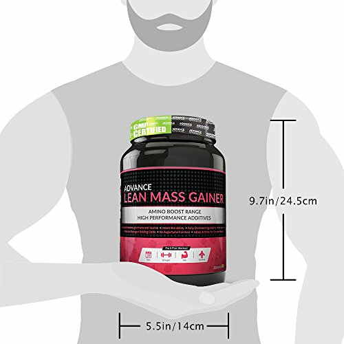 Advance Nutratech Lean Mass Gainer (1Kg / 2.2lbs, Chocolate)