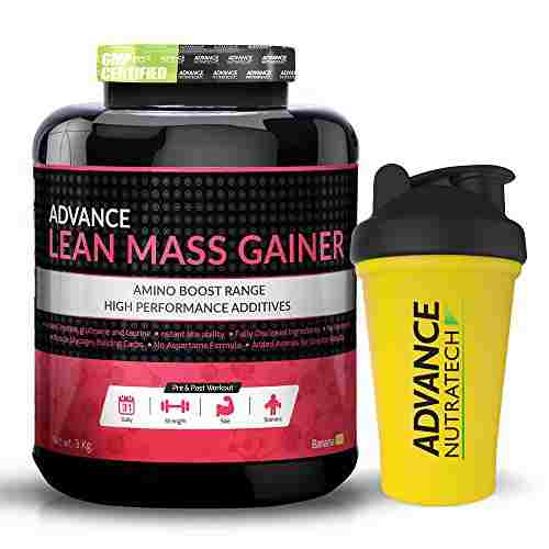 Advance Nutratech Lean Mass Gainer (3Kg, Banana)