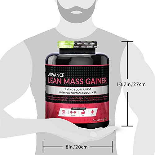 Advance Nutratech Lean Mass Gainer (3Kg, Chocolate)