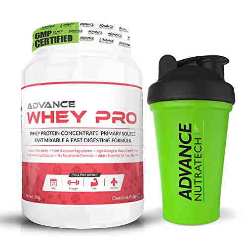 Advance Nutratech Whey Pro Protein Powder (1Kg, Chocolate)