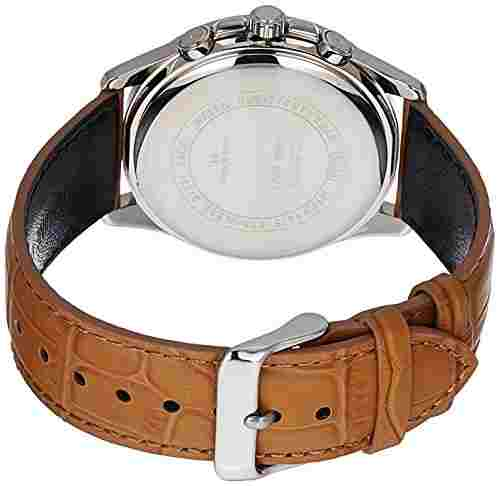 Casio Enticer MTP-1375L-9AVDF (A1079) Analog Silver Dial Men's Watch (MTP-1375L-9AVDF (A1079))