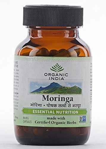 Organic India Moringa Nutrition (60 Capsules)