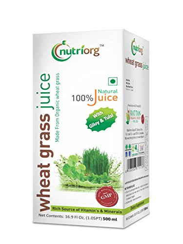 Nutriorg Wheat Grass Juice (500ml)