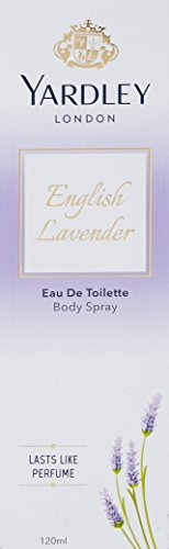 Yardley London English Lavender EDT Spray For Unisex, 120 ml