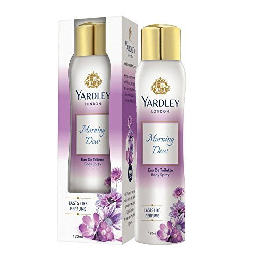 Yardley London Morning Dew Perfume Women Body Spray 120 ml