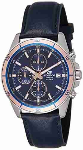 Casio EFR-526L-2AVUDF (EX302) Chronograph Blue Dial Men's Watch