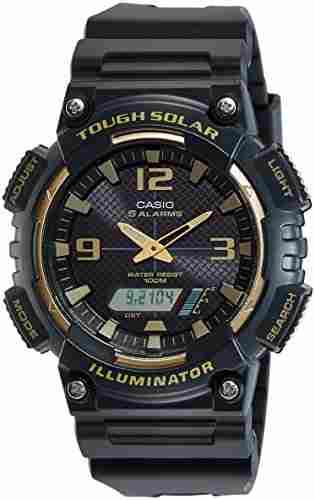 Casio Youth AQ-S810W-1A3VDF (AD209) -combination Analog Digital Black Dial Men's Watch (AQ-S810W-1A3VDF (AD209))