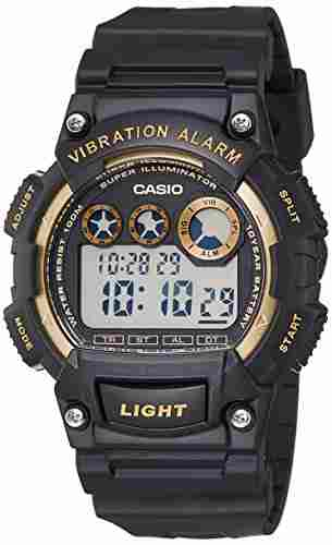 Casio Youth W-735H-1A2VDF (I101) Digital Black Dial Men's Watch (W-735H-1A2VDF (I101))