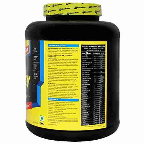 MuscleBlaze 100% Ultra Premium Whey Protein (2Kg, Cafe Mocha)