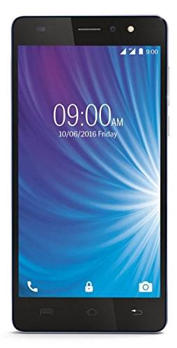 Lava X50 8GB Blue-Silver Mobile