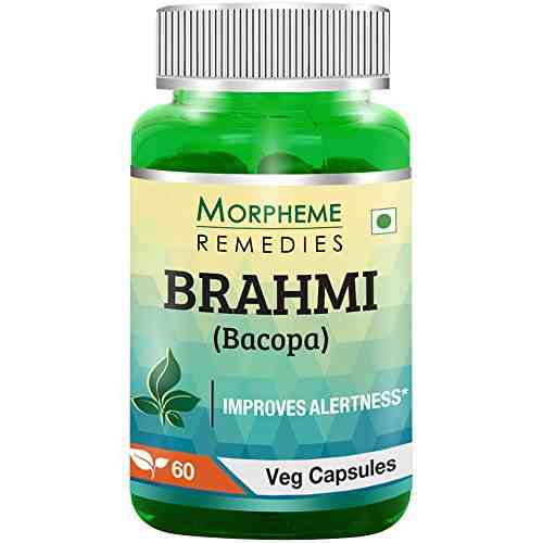 Morpheme Remedies Brahmi 500mg Extract Supplements (60 Capsules)