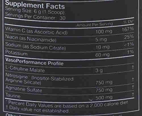 MusclePharm Vasosport Protein (180gm, Fruit Punch)
