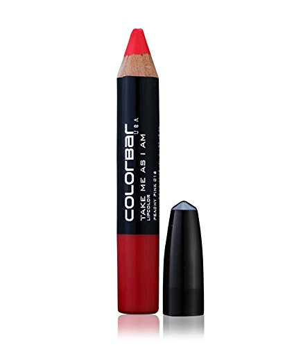 Colorbar Take Me As I Am Peachy Pink Pencil Lipstick For Women 016 3.94 GM