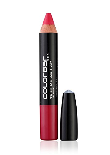 Colorbar Take Me As I Am Lipstick Tango Pink 011