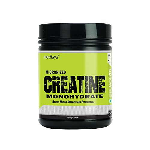 Medisys Micronized Creatine Monohydrate (300gm)